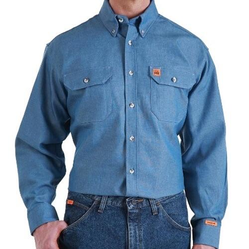 Men's FR Riggs Denim Work Shirt