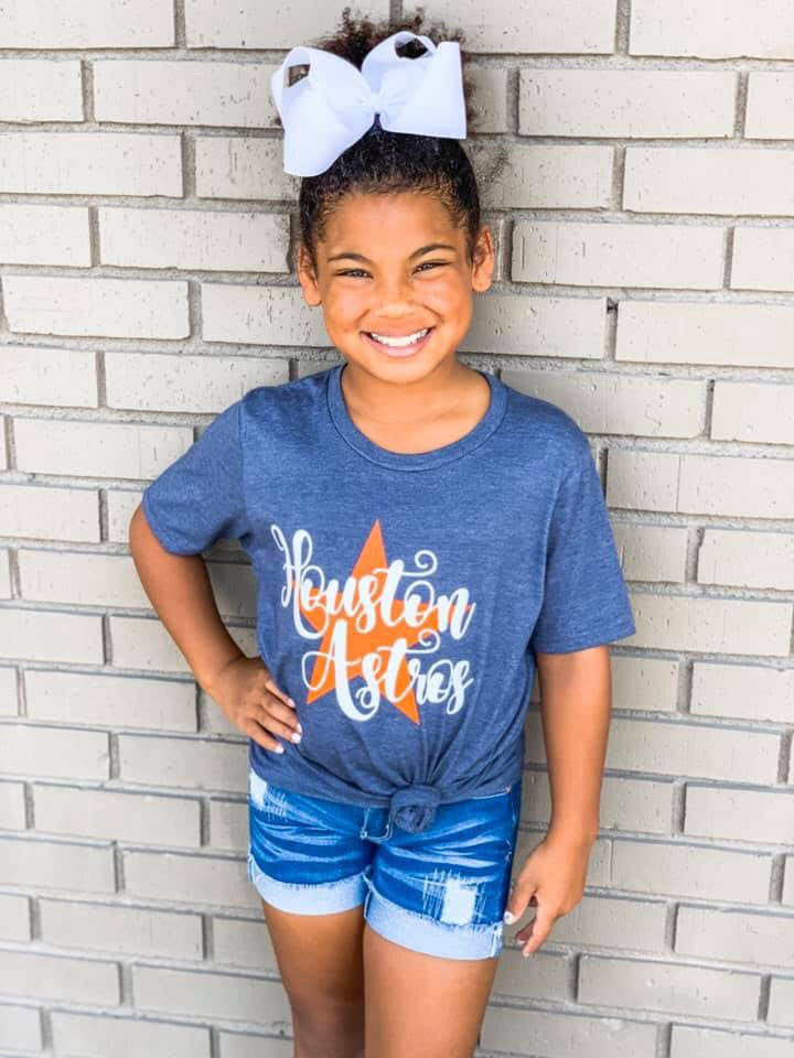 Houston Astros Youth Tee