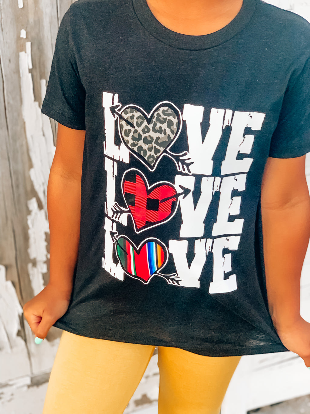 Kids Triple Love tee