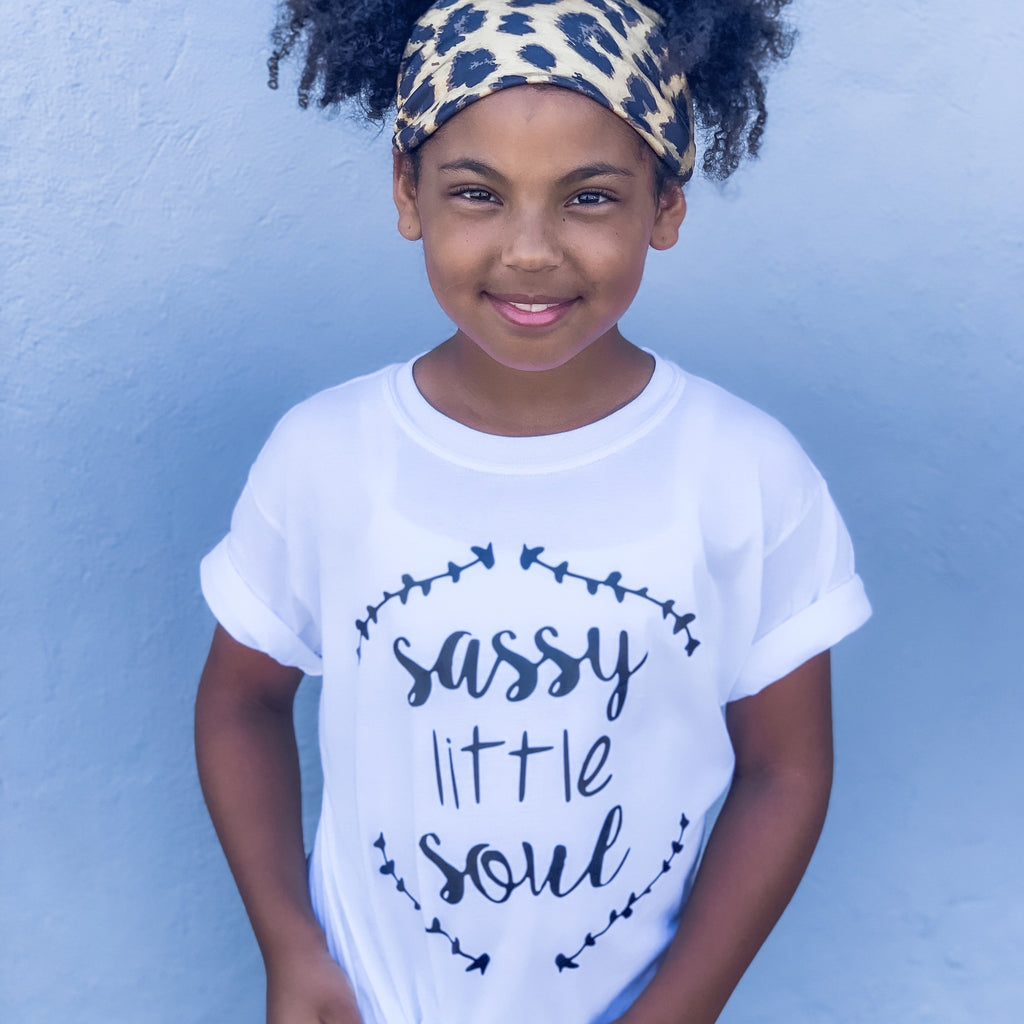 Sassy Little Soul Kids Tee