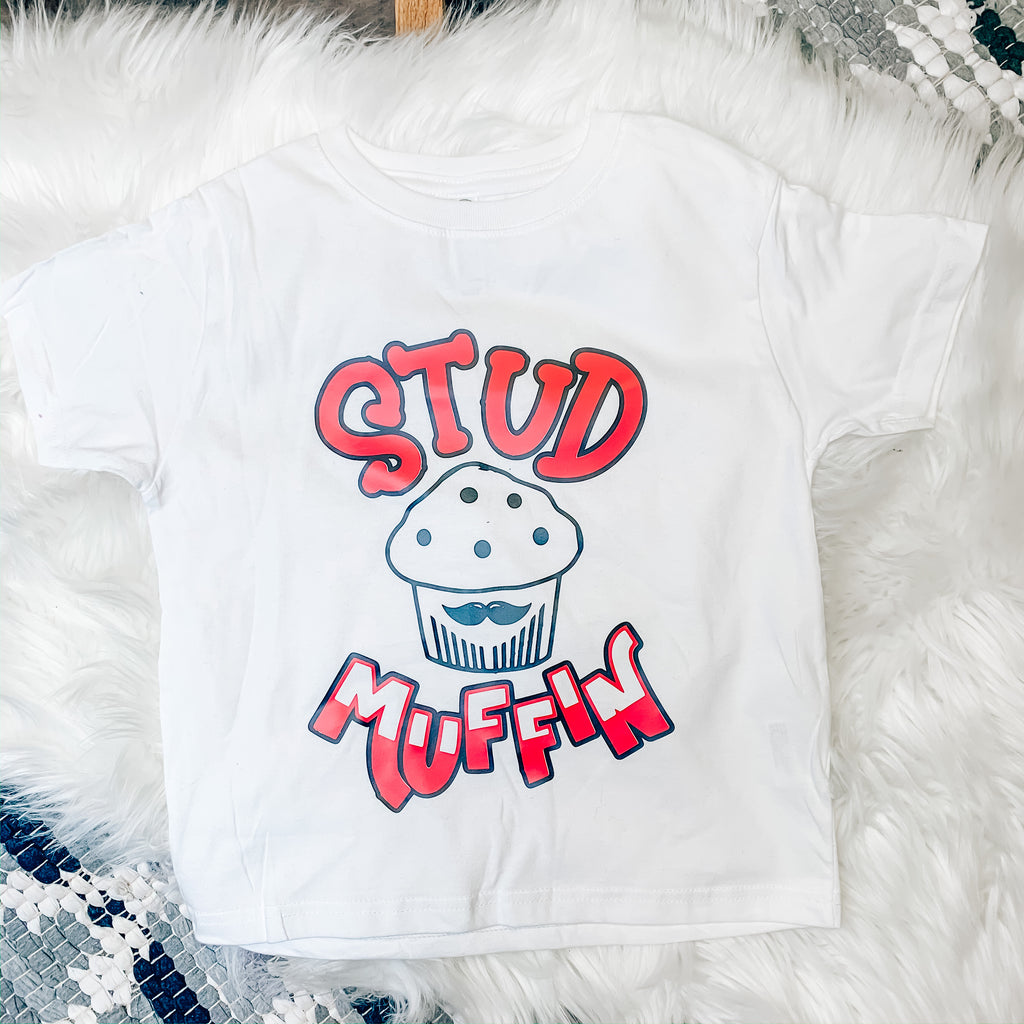 Kids Stud Muffin tee