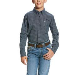 Boy's Ariat L/S Valdera Shirt