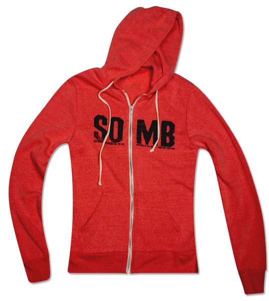 Red SOMB hoodie