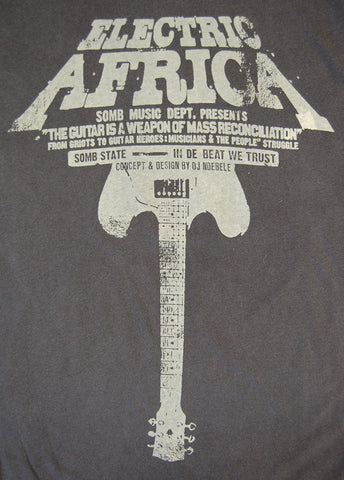 Electric Africa Destroyed Tee