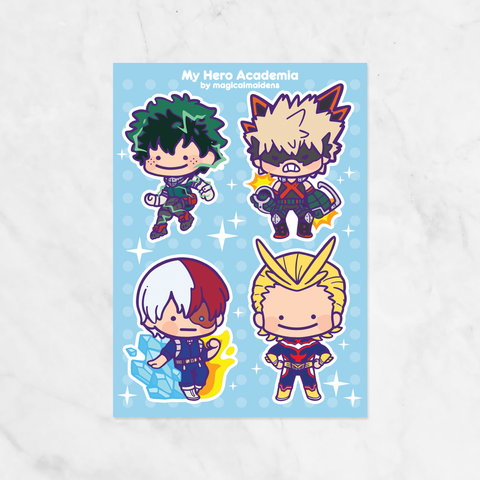 Ditto x My Hero Academia Stickers