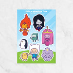 Ditto x Cartoons Sticker Sheets
