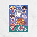 Ditto x Studio Ghibli Sticker Sheets