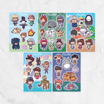 Ditto x Studio Ghibli Character Sticker Sheets