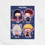 Ditto x Shonen Series Stickers