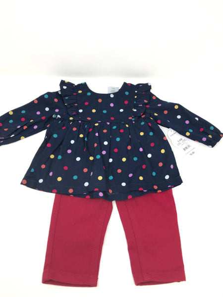 Child Size 3/6 MONTHS WONDERNATION 3/6 Months Girls