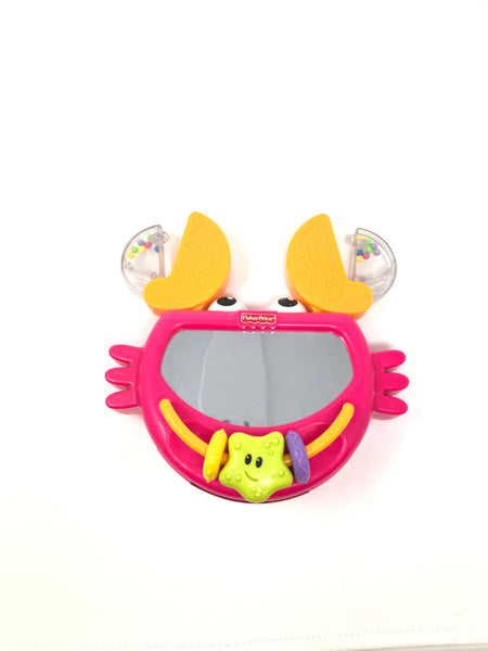 FISHER PRICE CRAB MIRROR TOY