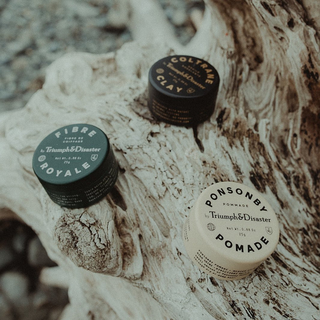 5 Best Hair Products For Men on Kaufmann Mercantile | Triumph & Disaster Hair Products