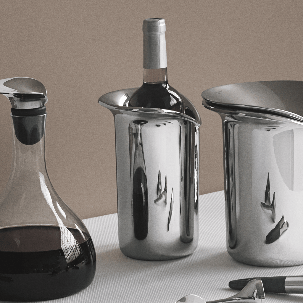 Wine & Bar Stainless Steel Cooler