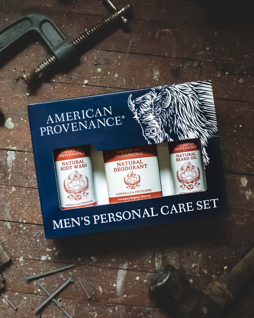 American Provenance Men's Personal Care Gift Set