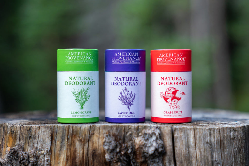 American Provenance Natural Deodorant