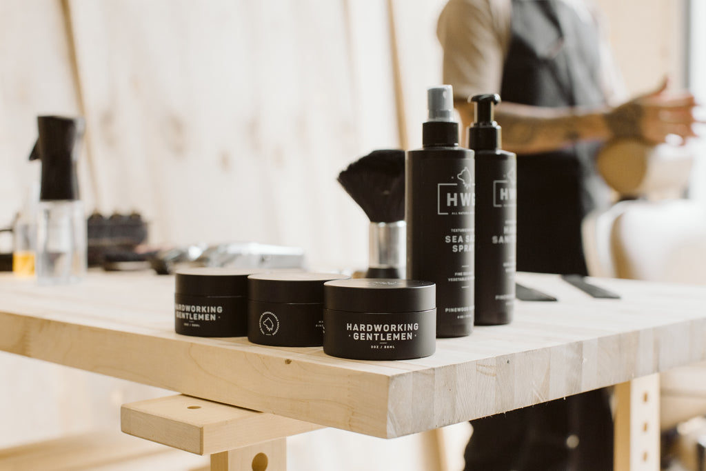 Hardworking Gentlemen Hair Grooming Products