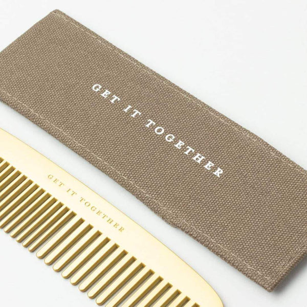 Izola Get it Together Brass Comb - Kaufmann Mercantile