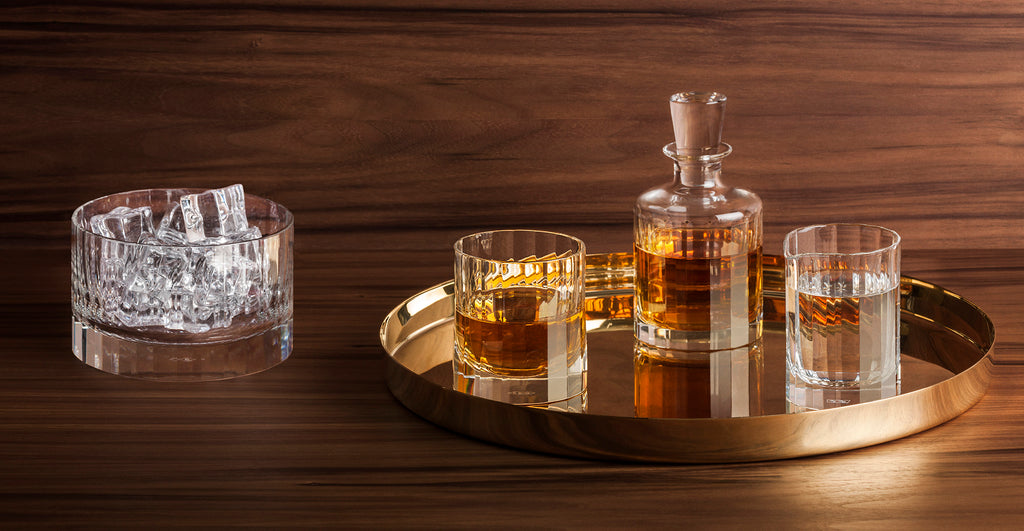 Richard Brendon Cut Crystal Barware