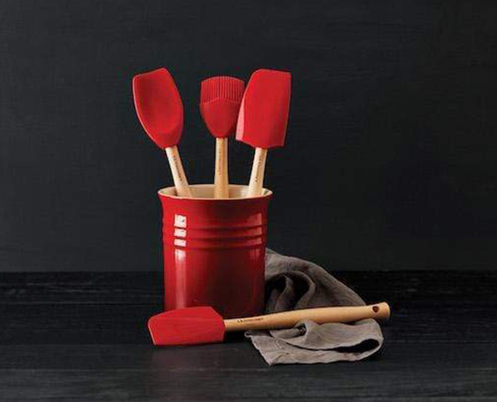 Craft 5-Piece Kitchen Utensil Set with Crock