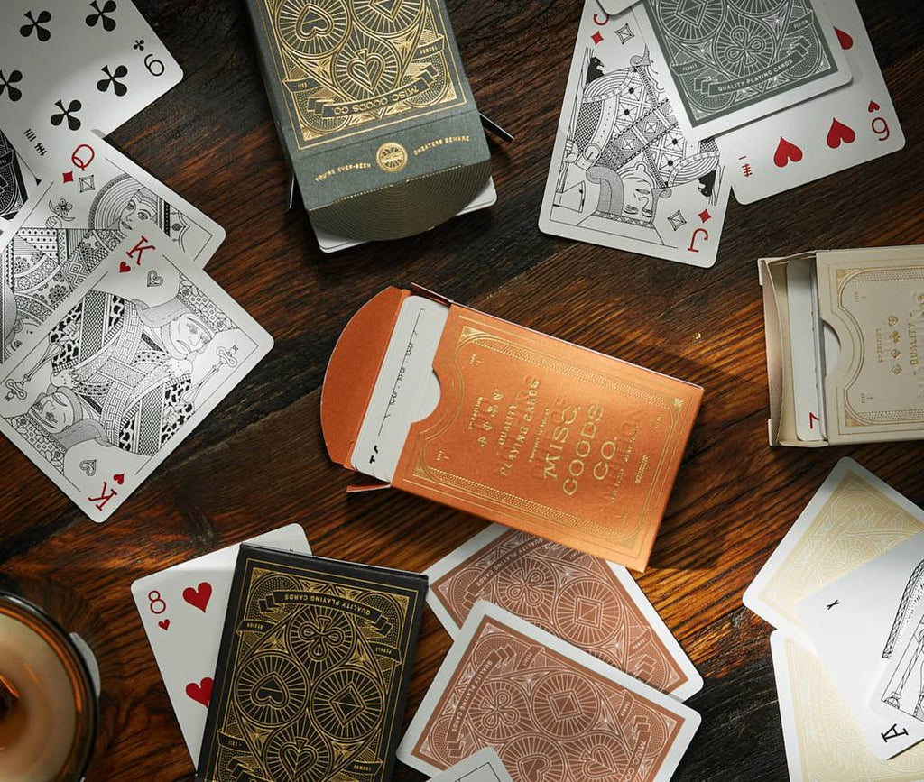 Misc. Goods Co Playing Cards