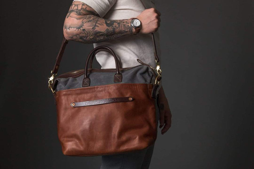Orox Leather Co. Viator Tote | Kaufmann Mercantile