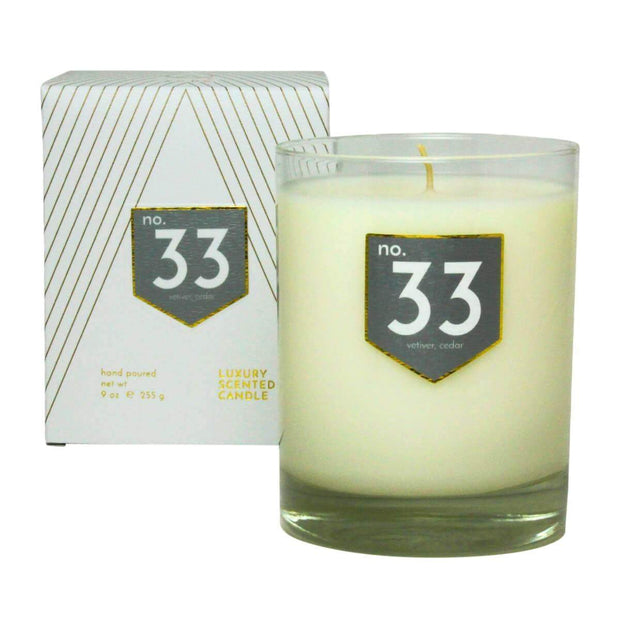 ACDC Candles No. 33 Vetiver Cedar Scented Soy Candle Kaufmann Mercantile