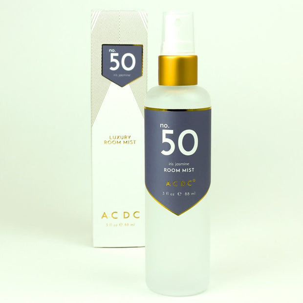 ACDC Room Sprays No. 50 Iris Jasmine Room Mist Kaufmann Mercantile