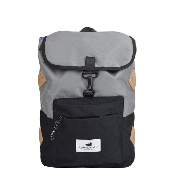 Alpine Division Backpacks Grey Rockaway Daypack Kaufmann Mercantile