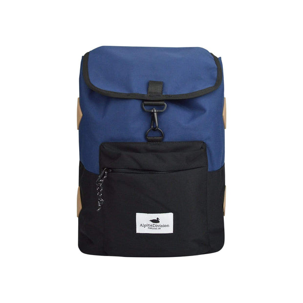 Alpine Division Backpacks Navy Rockaway Daypack Kaufmann Mercantile