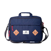 Alpine Division Messenger Bags Navy Marshall Messenger Bag Kaufmann Mercantile