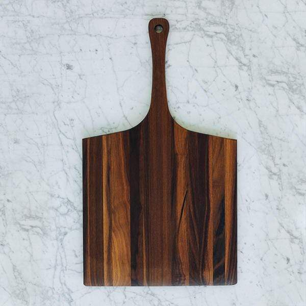 Amana Shops Tabletop Walnut Square Peel Serving Board Kaufmann Mercantile