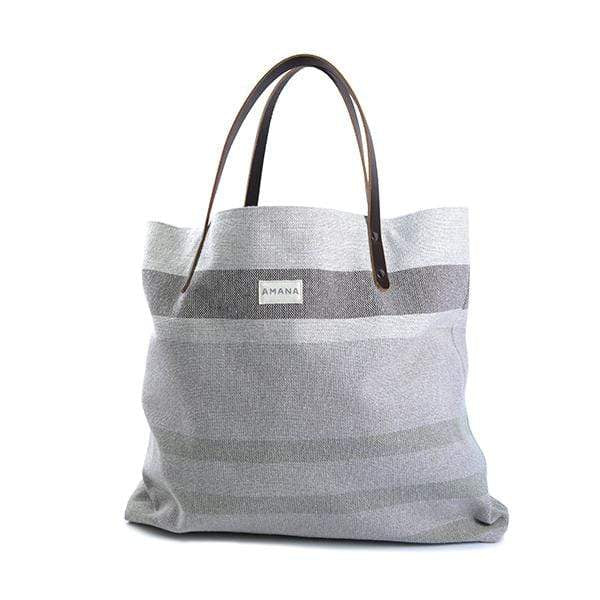Amana Shops Tote Bags Navy/Natural Eco2 Tote Kaufmann Mercantile
