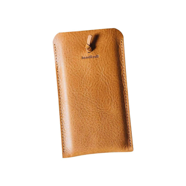 BAND & ROLL Everyday Carry Tan / Samsung Galaxy S10 Plus Companion Leather Phone Case Kaufmann Mercantile