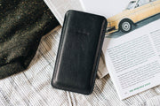 BAND & ROLL Everyday Carry Dandy Leather + Felt Phone Case Kaufmann Mercantile