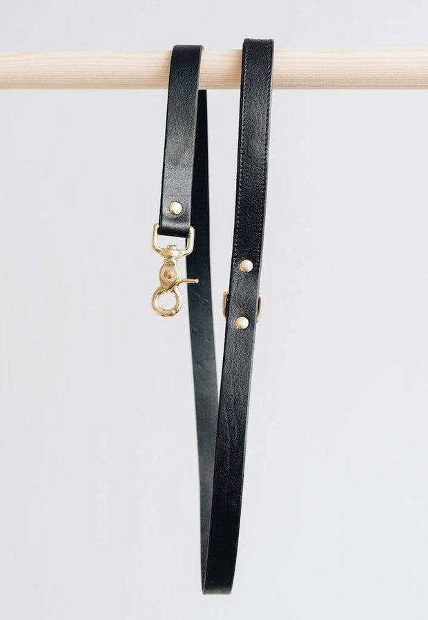 "BAND & ROLL Pets Short leather leash ""Hitch"" Kaufmann Mercantile"