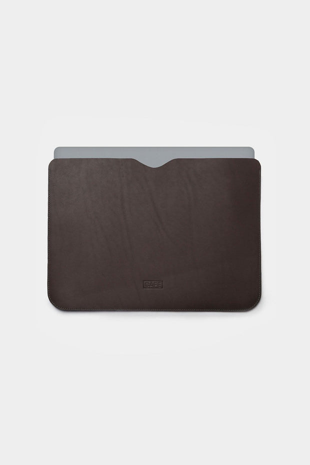 Cafe Leather Tech Cases Arica Macbook Sleeve Kaufmann Mercantile