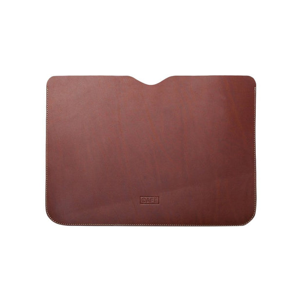 Cafe Leather Tech Cases Roasted Arica Macbook Sleeve Kaufmann Mercantile