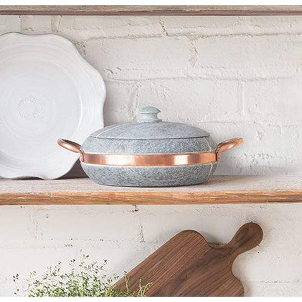 Cookstone Cookware & Tools Soapstone & Copper Stewing Pan Kaufmann Mercantile