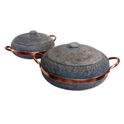 Cookstone Cookware & Tools Large Soapstone & Copper Stewing Pan Kaufmann Mercantile