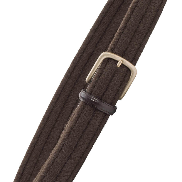 Dalgado Belts Brown Rodolfo Elastic Wool Belt Kaufmann Mercantile