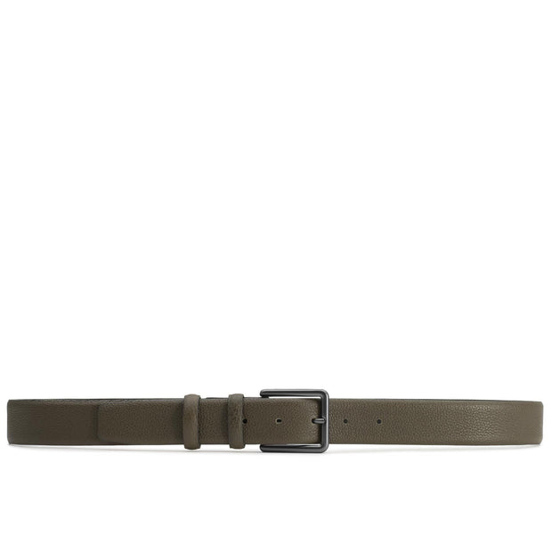 Dalgado Belts Green Santiago Handmade Leather Belt Kaufmann Mercantile