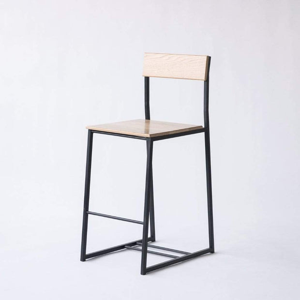 Edgework Crative Seating Ash / Black Scout Counter Stool Kaufmann Mercantile