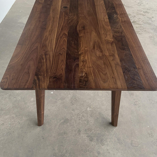 Edgework Crative Table Summit Dining Table- Walnut Kaufmann Mercantile