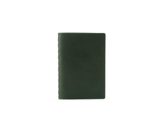 Ezra Arthur Notebooks & Writing Tools Green Small Leather Notebook Kaufmann Mercantile
