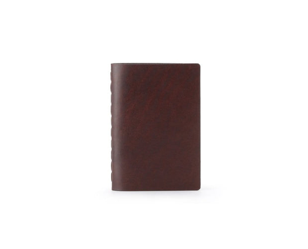 Ezra Arthur Notebooks & Writing Tools Malbec Small Leather Notebook Kaufmann Mercantile
