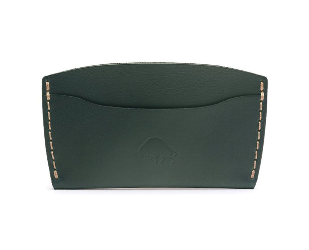 Ezra Arthur Wallets & Card Cases Green No. 3 Card Case Kaufmann Mercantile
