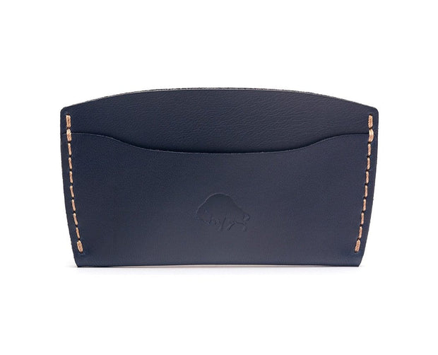 Ezra Arthur Wallets & Card Cases Navy No. 3 Card Case Kaufmann Mercantile