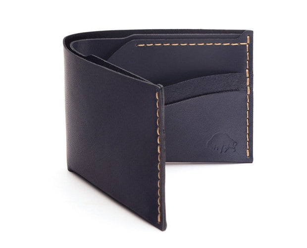 Ezra Arthur Wallets & Card Cases Navy No. 6 Classic Bifold Wallet Kaufmann Mercantile