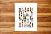 Field Guide Photography & Prints Montana Beer History Print Kaufmann Mercantile