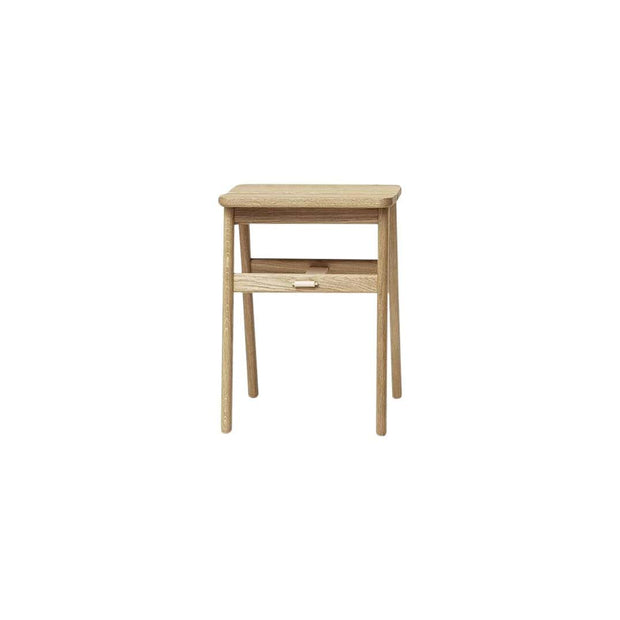 Form & Refine Decor Angle Stool - White Oak Kaufmann Mercantile